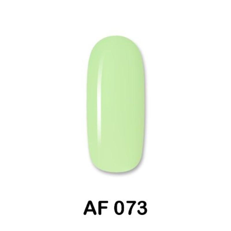Ημιμόνιμο Βερνίκι Νυχιών - Μανό Aloha AF 073 Soft Milky Green 15ml