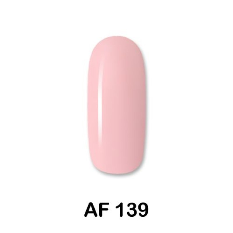 Ημιμόνιμο Βερνίκι Νυχιών- Μανό Aloha AF139 Fresh  Pink 15ml