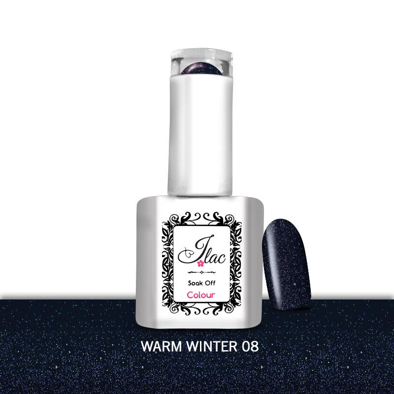 Ημιμόνιμο Βερνίκι Jlac Warm Winter 08