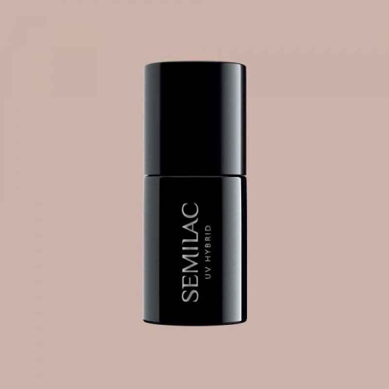 Semilac ENDLESS SUMMER 370  Ημιμόνιμο βερνίκι Semilac Sandy Beige 7ml
