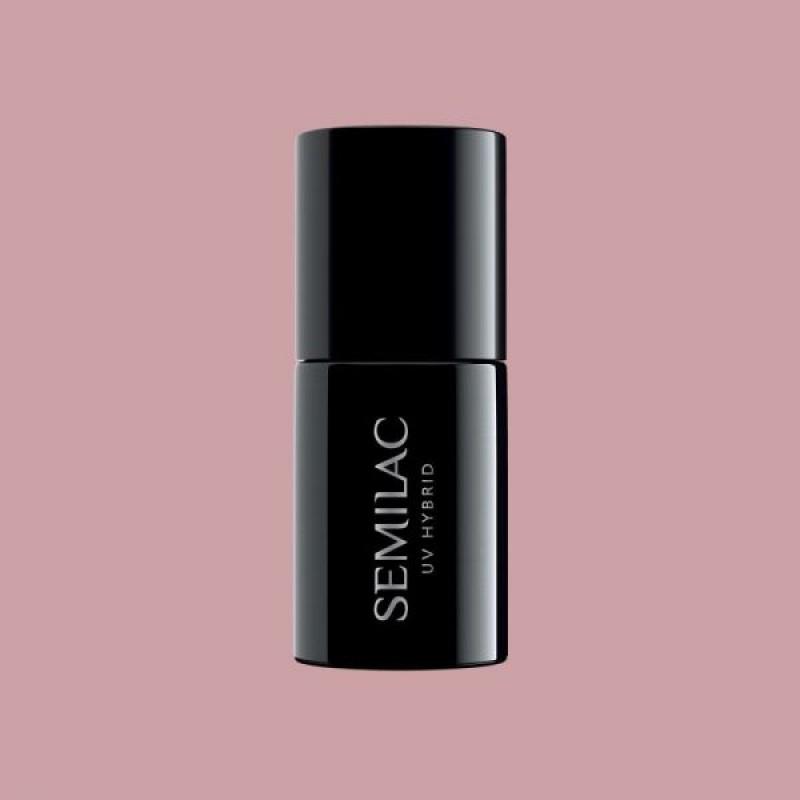 Semilac ENDLESS SUMMER 372 Ημιμόνιμο βερνίκι Semilac Sandal Tree Pink 7ml