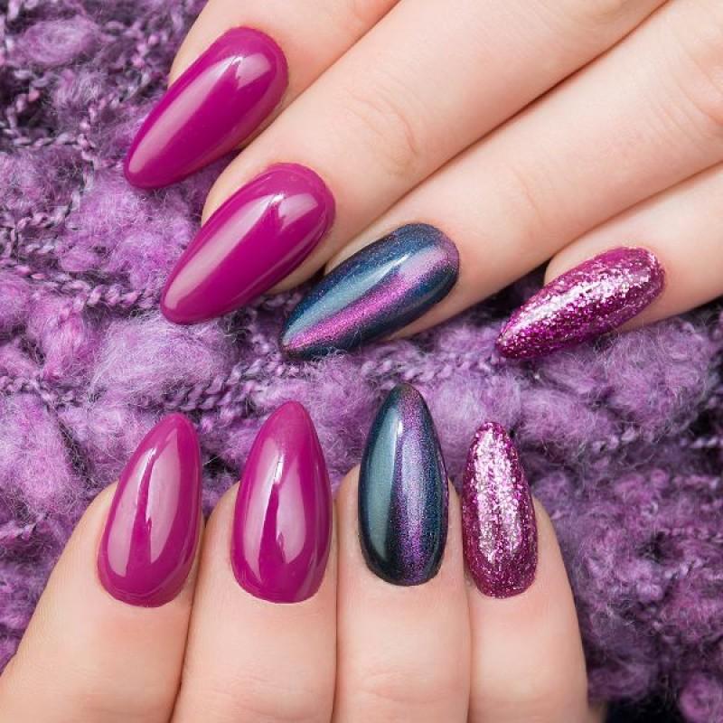 Semilac Ημιμόνιμο Βερνίκι Νυχιών Platinum Violet 256 7ml