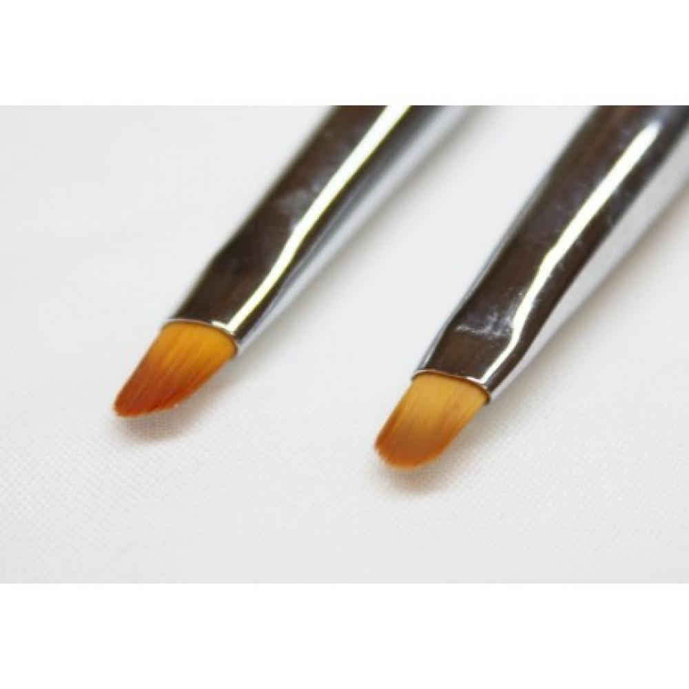 Gel brush 4/6 with rhinestone decoration