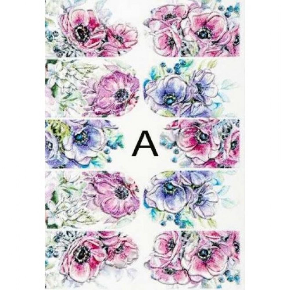 4D FLOWER STICKER