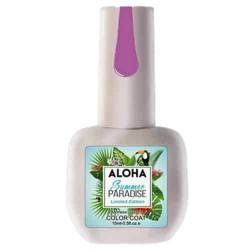 Ημιμόνιμο βερνίκι Aloha 15ml – Χρώμα SP 28 (Soft Rasberry – Μωβ βατόμουρου απαλό)