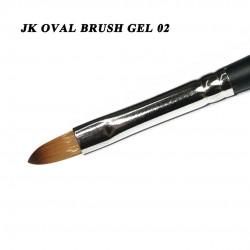 J.K OVAL BRUSH GEL 02 SIZE 06 (220240)